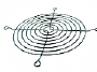 Cooler Evercool Fan Grill Metal - 80mm