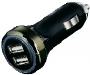 Power Adapter Hama Dual USB Car Charger 14128