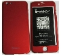 Protector iPhone 6 360° Case HQ Red